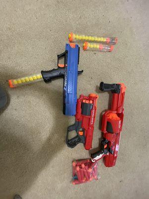 Nerf gun bundle!! for Sale in Richardson, TX