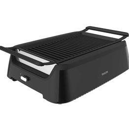 Philips Kitchen Appliances HD6371/94 Philips Smoke-less Indoor BBQ Grill, Avance Collection, 5, Black for Sale in Ontario,  CA