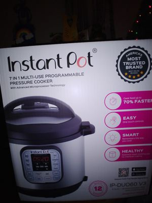 Instant Pot Brand New 6 Quart for Sale in Woodinville, WA