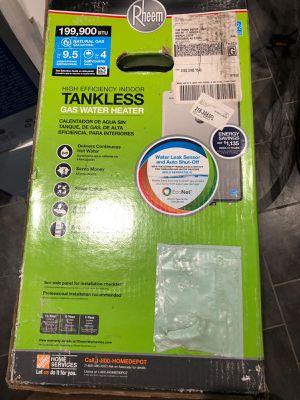 Rheem high efficiency water heater for Sale in Brooklyn, NY