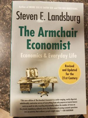 The Armchair Economist for Sale in Providence, RI