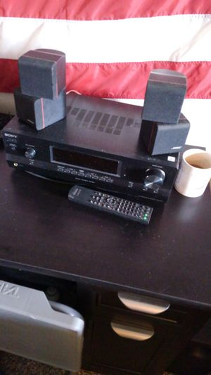 Sony stereo system, 2 speakers and a subwoofer for Sale in Corpus Christi, TX