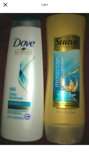 Lot Of 2 Dove Shampoo & Suave Conditioner For Normal, Dry Hair NIP for Sale in Pottsville, PA