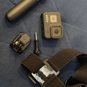 GoPro Hero 8 Black + Shorty + Head Strap for Sale in Santa Clara, CA