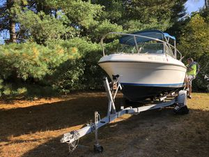 Robalo 21 foot Cabin Cruiser 1998 Johnson 200 outboard for Sale in Tewksbury, MA