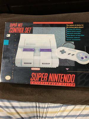 Brand New Super Nintendo Console for Sale in Taylor, MI