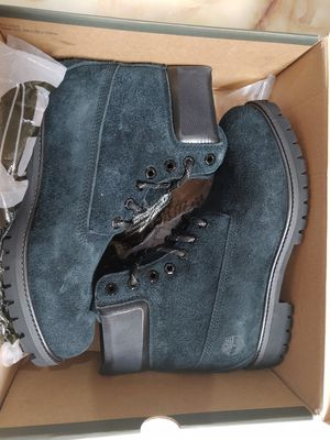 """New Timberland Men's 6"""" Premium Suede Boots Black Size 9 Also have 9.5 for Sale in Oak Point, TX"""