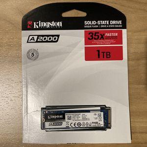 Kingston A2000 M.2 SSD 1TB for Sale in Seattle, WA