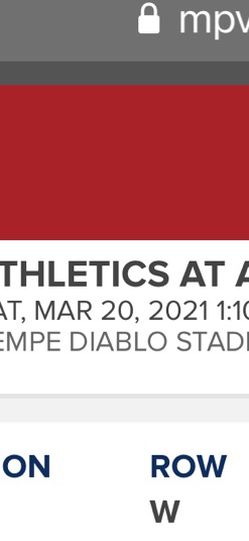 Los Ángeles Angels Spring Training Tickets March 20th for Sale in Riverside,  CA