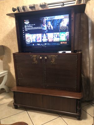 Electric elevator hutch tv for Sale in Phoenix, AZ