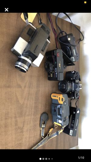 Assorted Camera Lot UNTESTED for Sale in Smithfield, RI