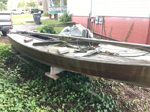 16' wooden Sailboat for Sale in Smithfield, VA