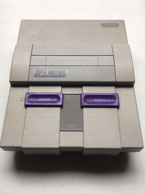 Super Nintendo Entertainment System Original SNES @VGs! for Sale in Austin, TX