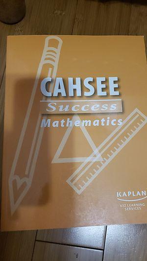 CAHSEE Success Mathematics Kaplan for Sale in Ontario, CA