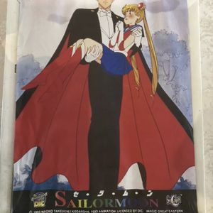 Sailor Moon Anime Tsukino Usagi Wall Hanging Tapestry from 1998 for Sale in Philadelphia, PA