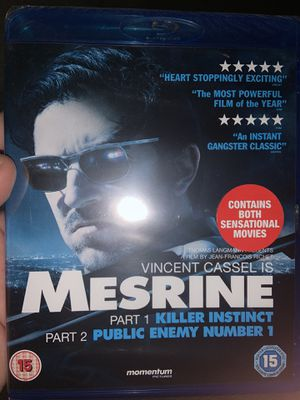 Mesrine part one and part two blu ray for Sale in El Monte, CA