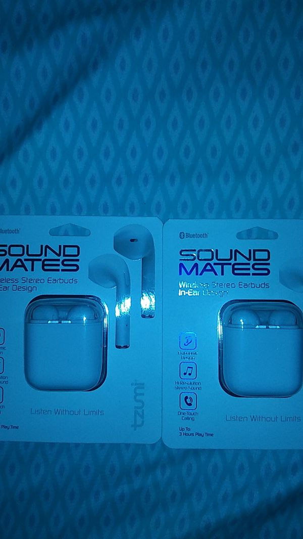 Bluetooth sound mates headphones by tzumi for Sale in Houston, TX - OfferUp