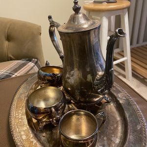 Silver plated Tea Set for Sale in Buffalo, NY