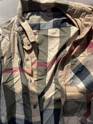 Burberry Dressshirt Sz large for Sale in San Francisco, CA