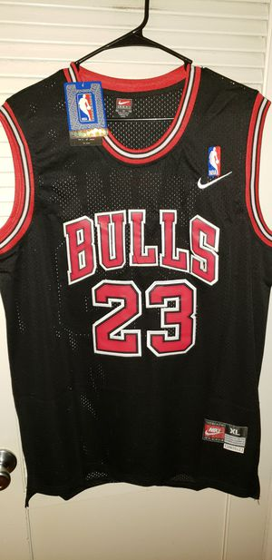 Men's XL Michael Jordan Chicago Bulls Jersey New with Tags Stiched Nike $45. Ships +$3. Pick up in West Covina for Sale in La Puente, CA