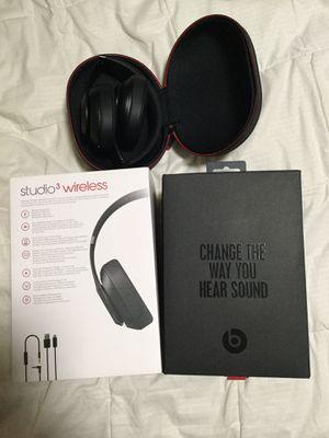 Beat Studio 3 Wireless Headphone for Sale in Garden Grove, CA