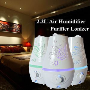 Brand NEW Never Used Never Opened XL Capacity 85 oz Ultrasonic Home LED Aroma Humidifier Purifier 7 Colors Lights Night Lamp In Manufacturing Box + B for Sale in Austin, TX