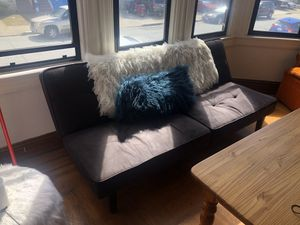 Gently Used Futon, Opens up to a Twin sized bed for Sale in San Francisco, CA