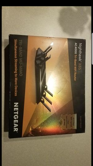 Netgear Nighthawk X6S AC4000 tri band wifi router for Sale in Pembroke Pines, FL