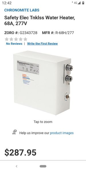 Water Heater (BRAND NEW) for Sale in Brea, CA