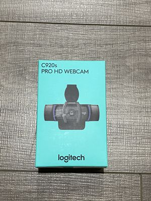 Logitech c920s Full HD Webcam for Sale in Fontana, CA