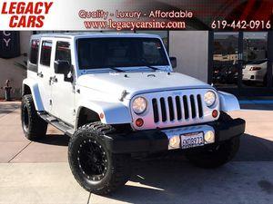 2010 Jeep Wrangler Unlimited for Sale in El Cajon, CA