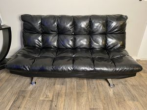 Leather Futon for Sale in Austell, GA