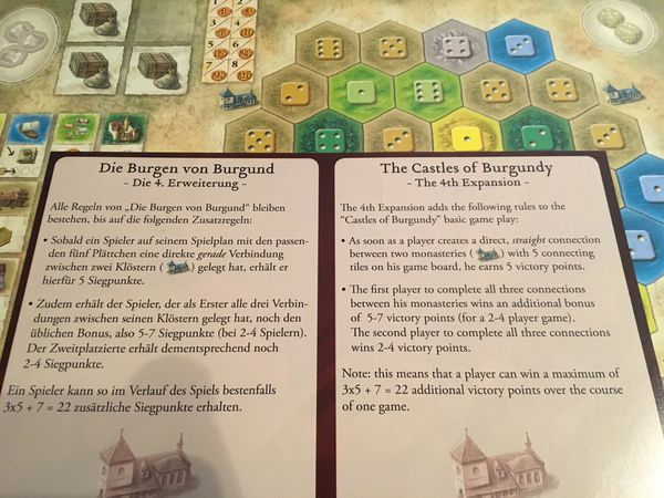 The Castles of Burgundy + 2 expansions