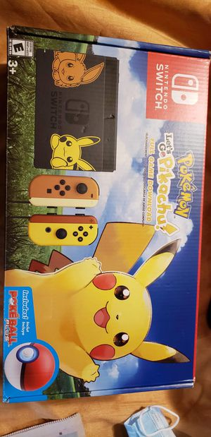 Nintendo Switch Go Pikachu Edition! for Sale in Weirton, WV