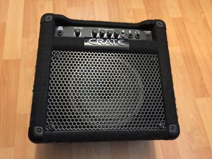 Crate BT15 Bass Guitar Amp for Sale in Washington, DC