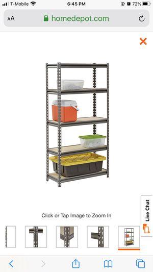 Metal storage shelves,I have five units each for 25$ and each unit have five shelves for Sale in Golden Oak, FL