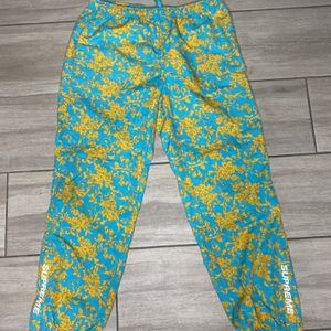 Supreme Track Pants Teal Floral for Sale in Phoenix, AZ
