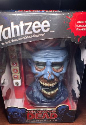 The Walking Dead Yahtzee Collector's Edition for Sale in Estacada, OR