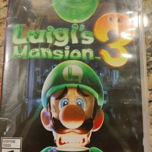 Luigi's Mansion 3 - Nintendo Switch for Sale in Norco, CA