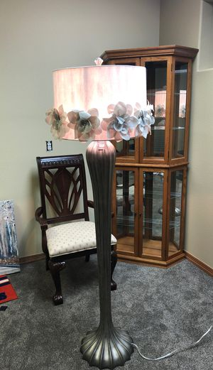 Floor lamp from pier one brand new for Sale in Longmont, CO