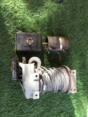 Warn 8274 winch for parts for Sale in Hialeah, FL