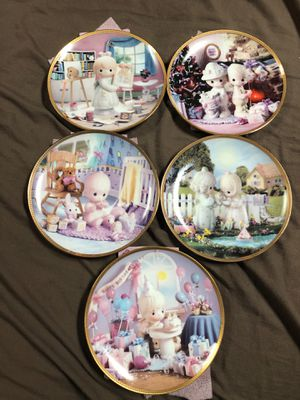 Precious Moments Sharing Life's Precious Moments 9plate set for Sale in Elizabeth, PA