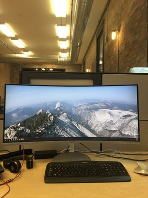 """34"""" Curved Widescreen Samsung CF791 Monitor for Sale in Chicago, IL"""