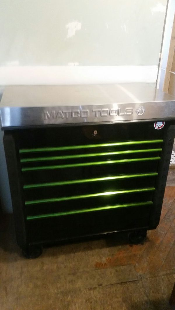 Matco tool box 5 drawer