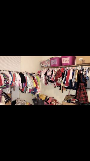 Over 15,000 pieces of name brand baby and kids clothes super cheap! for Sale in Dallas, TX