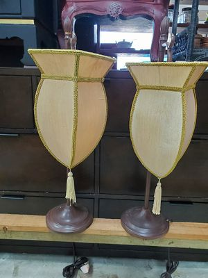 Pair of lamps for Sale in Davie, FL