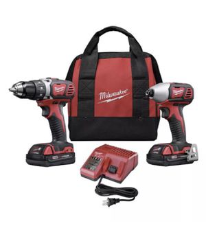 Milwaukee 269122 M18 18V Lithium-Ion 1/2 in. Drill Driver and 1/4 in. Impact Driver High Performance Combo Kit for Sale in Ruckersville, VA