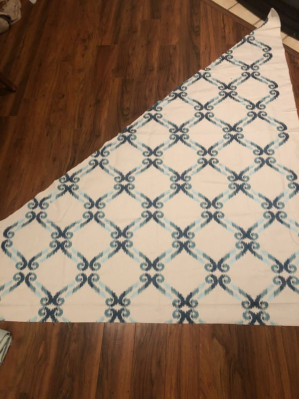 A set of cut fabrics!