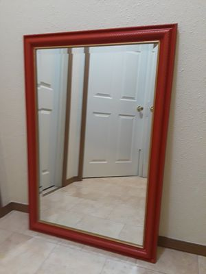 Red/Gold Mirror for Sale in Berea, OH