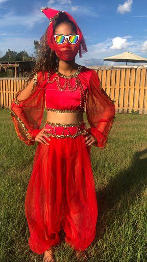 Aladdin jasmine red genie size 10 girls for Sale in Brandon, FL